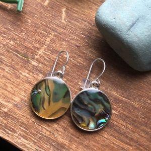 Jewelry - Abalone Shell Multicolor Dangle Earrings